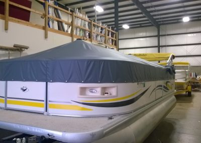 Pontoon Boat Cover 12